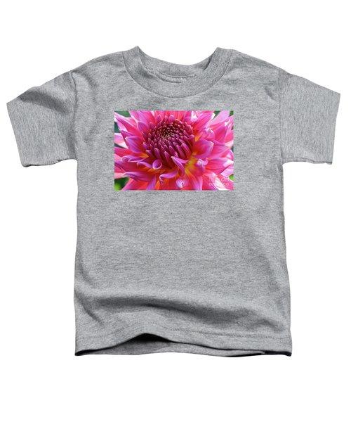 Vibrant Dahlia Toddler T-Shirt