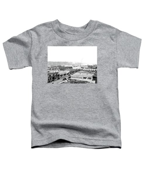View Nw Over Olympia From Elks Building On Capitol Way 1929 Toddler T-Shirt