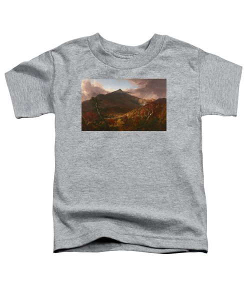 View Of Schroon Mountain, Essex County, New York, After A Storm, 1838 Toddler T-Shirt