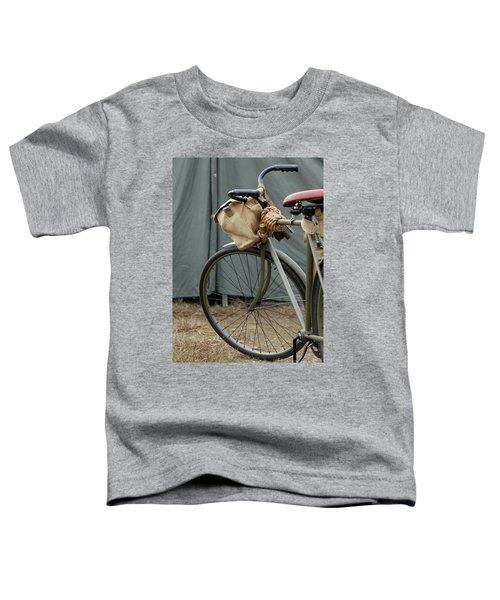 Vintage Bicycle World War II  Toddler T-Shirt