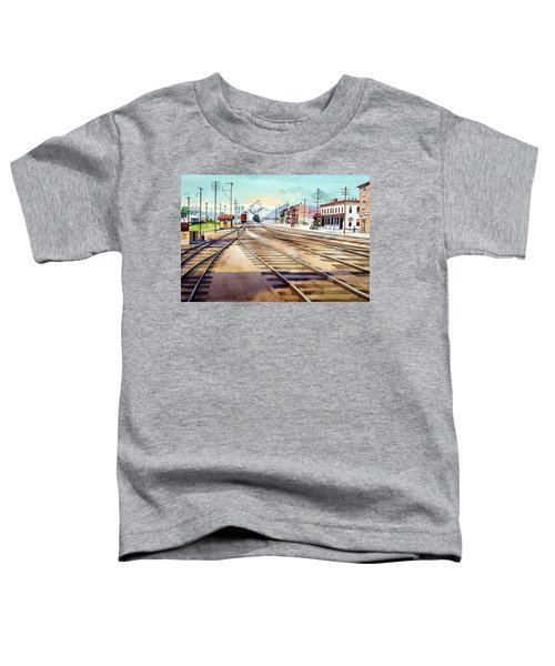 Vintage Color Columbia Rail Yards Toddler T-Shirt