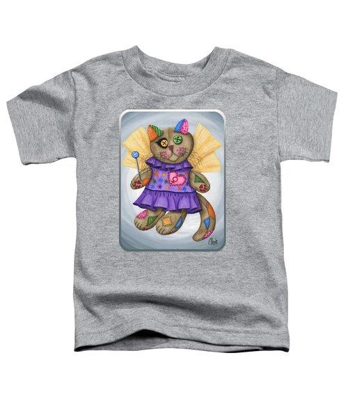 Voodoo Empress Fairy Cat Doll - Patchwork Cat Toddler T-Shirt