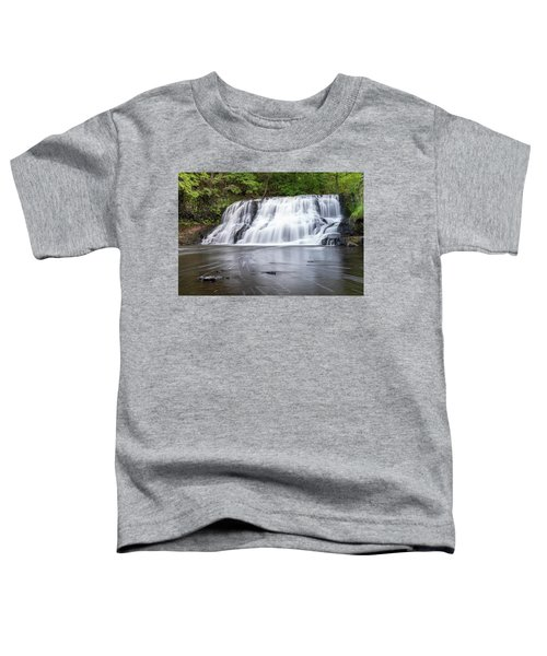 Wadsworth Falls In Middletown, Connecticut U.s.a.  Toddler T-Shirt