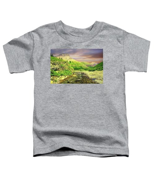 Walking The Swift Current River Toddler T-Shirt