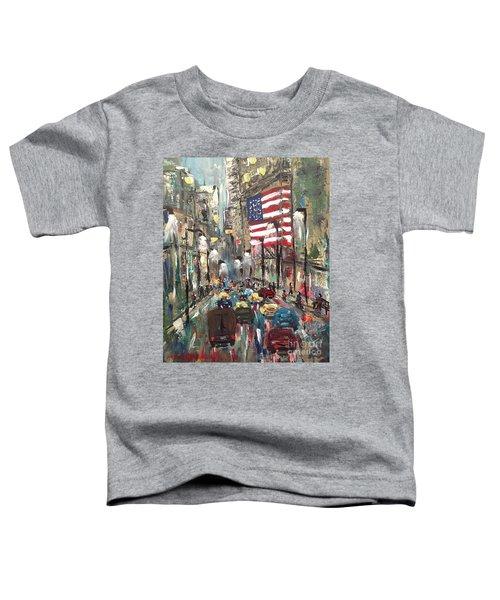 wall street NY Toddler T-Shirt