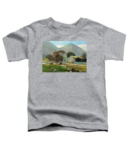 Wasdale Head With Great Gable In The Distance Toddler T-Shirt