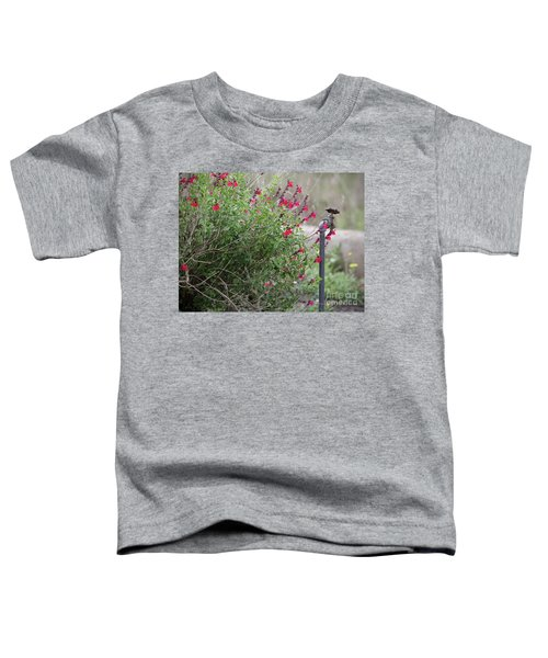 Water In The Garden Toddler T-Shirt