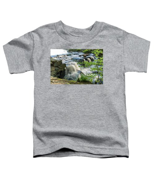 Waterfall At The Old Mill  Toddler T-Shirt
