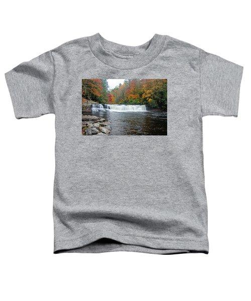 Waterfall In Autumn Toddler T-Shirt