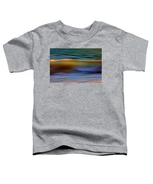 Wave Abstact Toddler T-Shirt