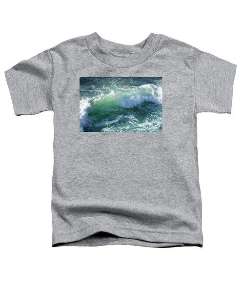 Wave At Montana De Oro Toddler T-Shirt