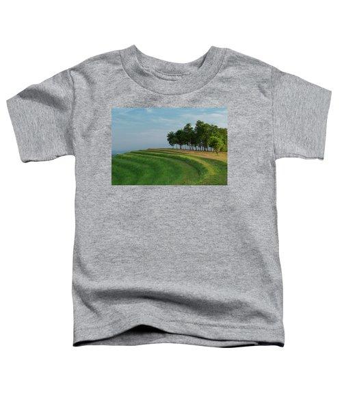 Waves Of Grass Toddler T-Shirt