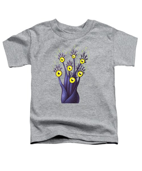 Weird Tree Monster With Yellow Eyes  Toddler T-Shirt