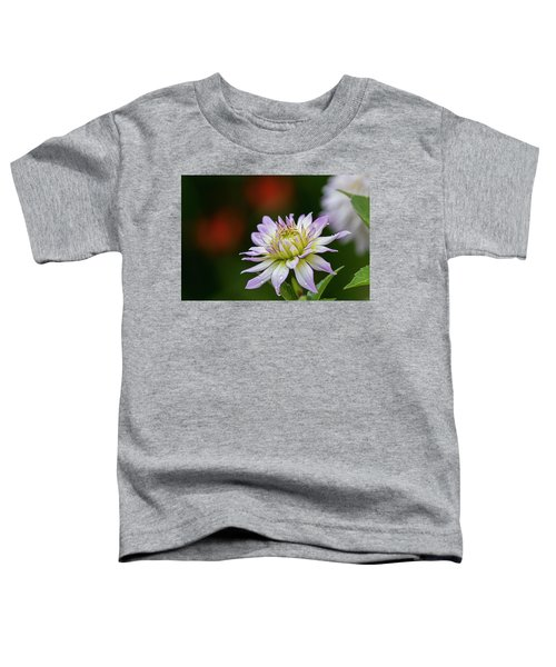 Wet Petals Dahlia Toddler T-Shirt