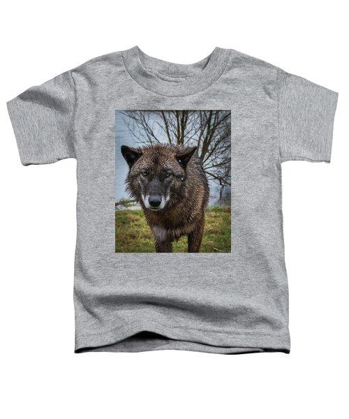 Wet Wolf Toddler T-Shirt