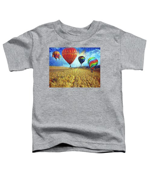 When The Sky Blooms Toddler T-Shirt