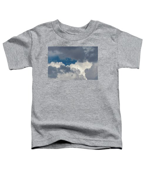 White And Gray Clouds Toddler T-Shirt