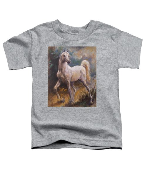 White Arabian Toddler T-Shirt