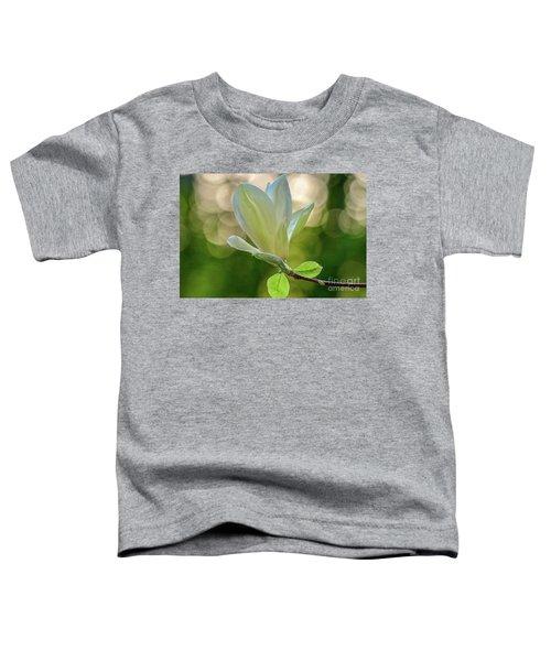 White Magnolia Toddler T-Shirt