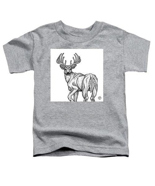 White Tailed Buck Toddler T-Shirt