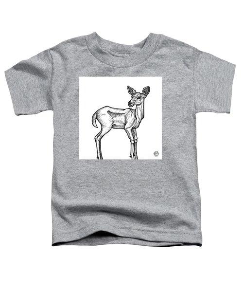 White Tailed Doe Toddler T-Shirt