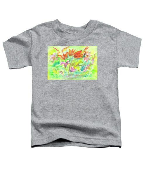 Wild Flowers In The Sunny Meadow Toddler T-Shirt
