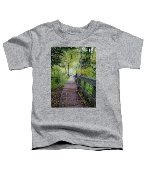 Winding Stairs In Autumn Toddler T-Shirt