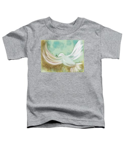 Wings Of Peace Toddler T-Shirt