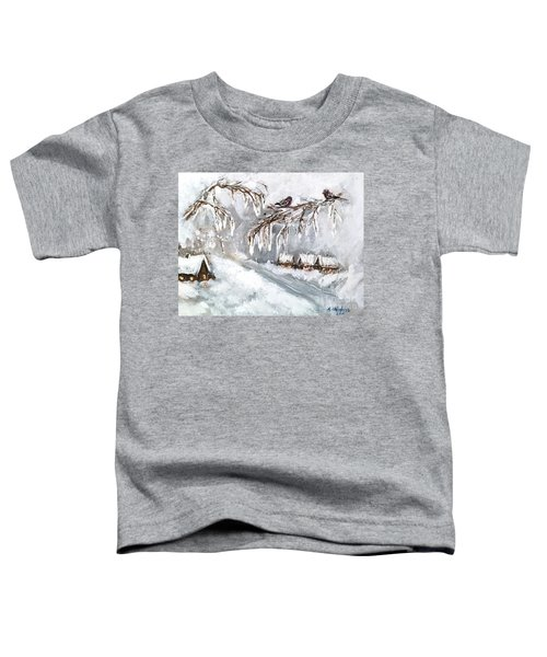 Winter Toddler T-Shirt