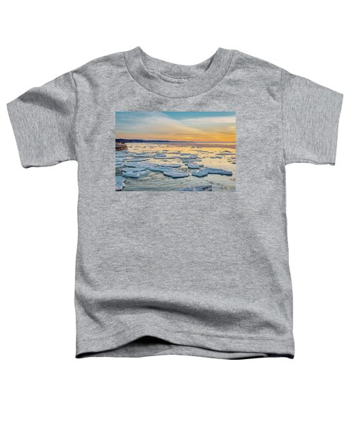 Winter Sunset Toddler T-Shirt