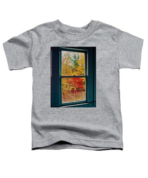 Winter Window Toddler T-Shirt
