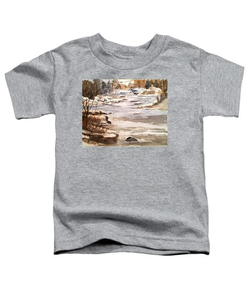 Winters Day Toddler T-Shirt