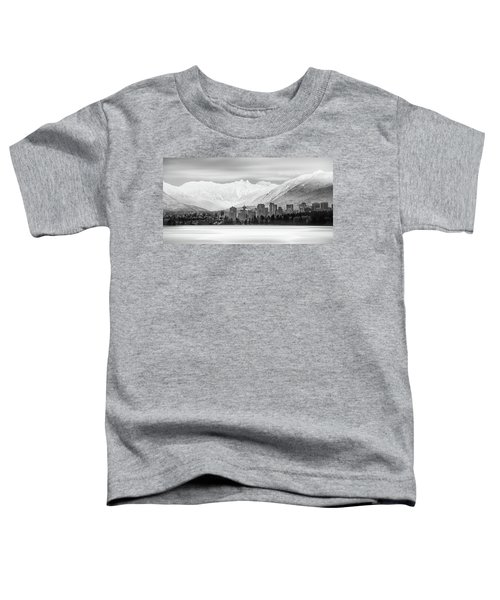 Winterscape Vancouver Toddler T-Shirt