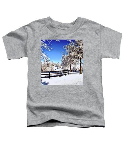 Wintry Lane Toddler T-Shirt