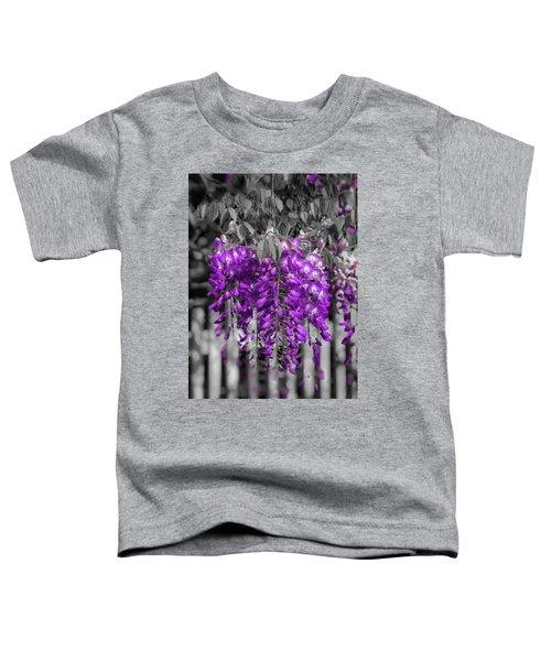 Wisteria Falling Toddler T-Shirt