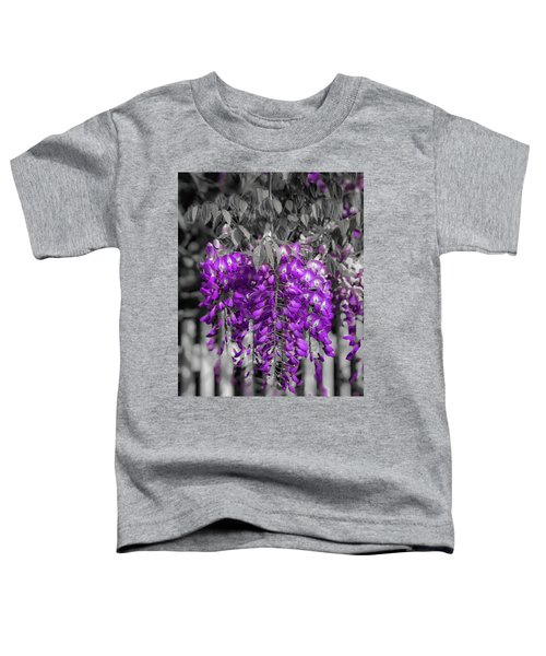 Wisteria Falling Toddler T-Shirt