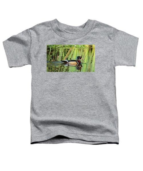 Wood Duck Reflection 2 Toddler T-Shirt