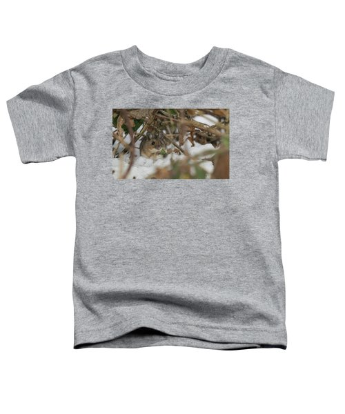 Wood Mouse Toddler T-Shirt
