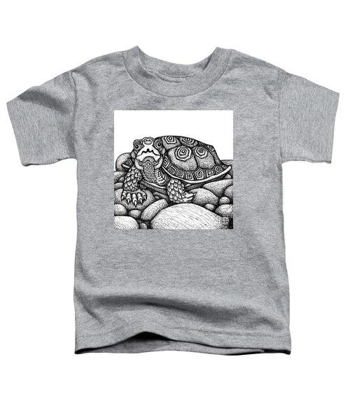 Wood Turtle Toddler T-Shirt