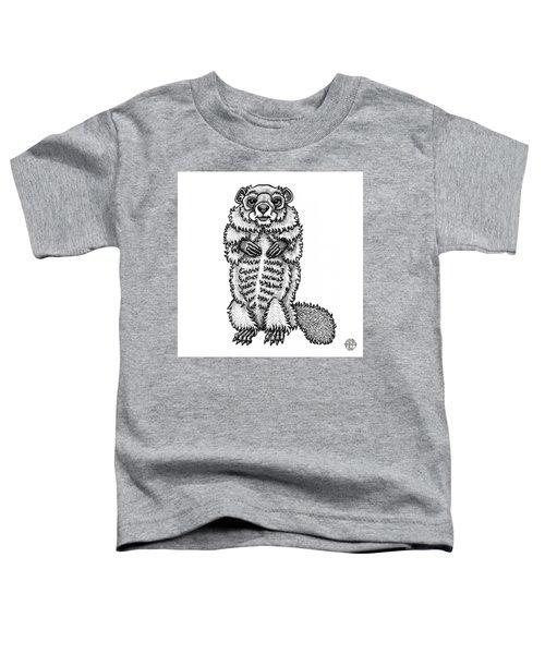 Woodchuck Toddler T-Shirt