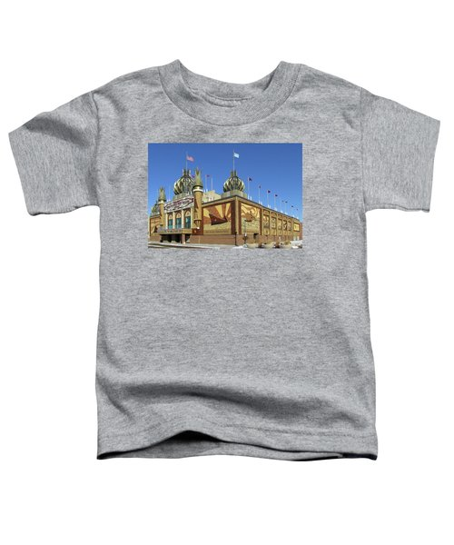 Worlds Only Corn Palace 2018-19 Toddler T-Shirt