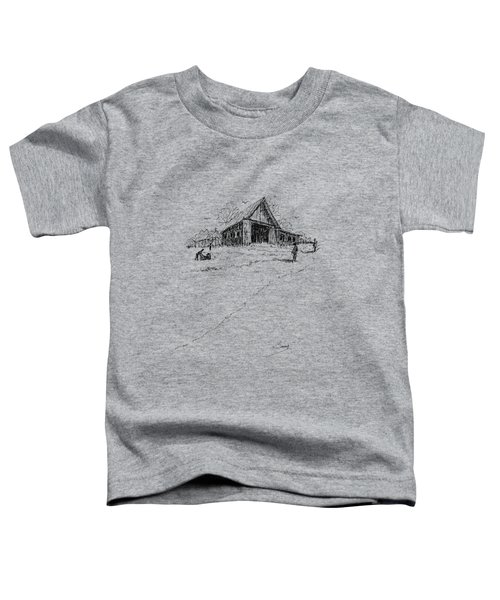 Yard-work On The Farm Toddler T-Shirt