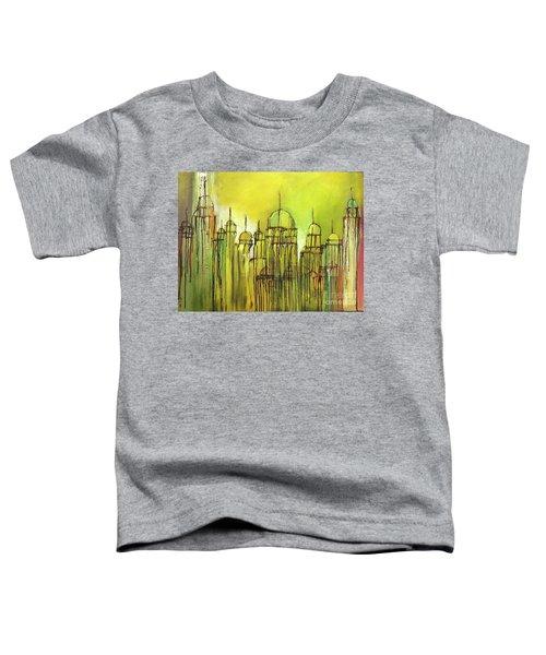 Yellow Mosque  Toddler T-Shirt