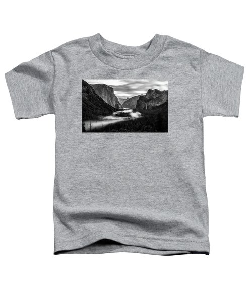 Yosemite Fog 1 Toddler T-Shirt