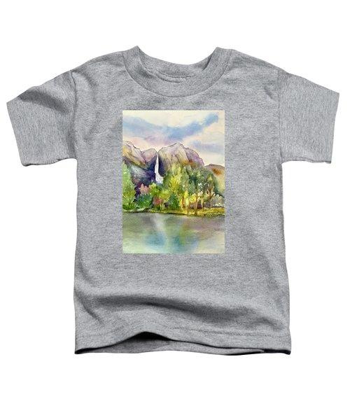 Yosemite Waterfalls Toddler T-Shirt