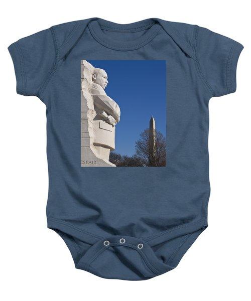 Martin Luther King Jr Memorial Baby Onesie