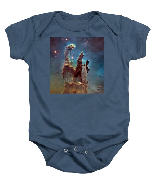 Pillars Of Creation Baby Onesie