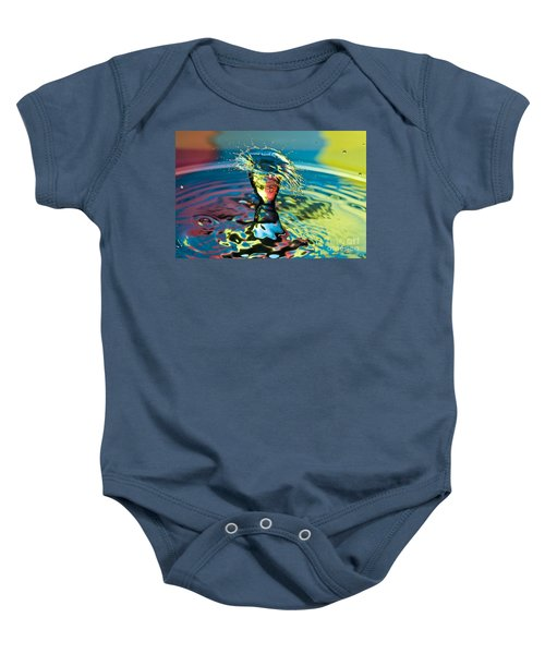 Water Splash Having A Bad Hair Day Baby Onesie