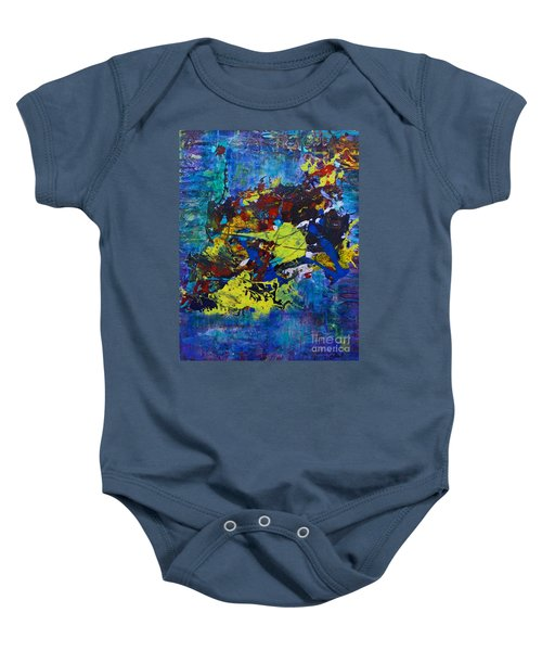 Abstract Fish  Baby Onesie