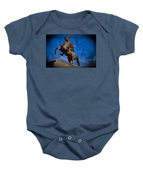 Andrew Jackson And New Orleans Saints Baby Onesie